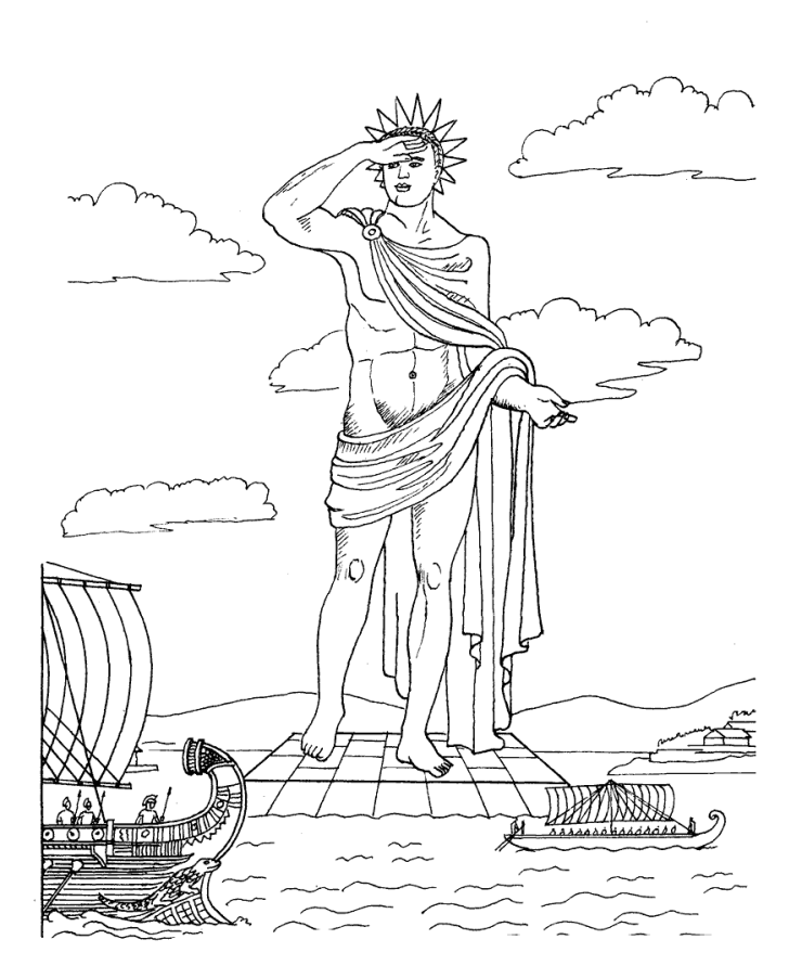 Colossus-of-Rhodes-coloring-page